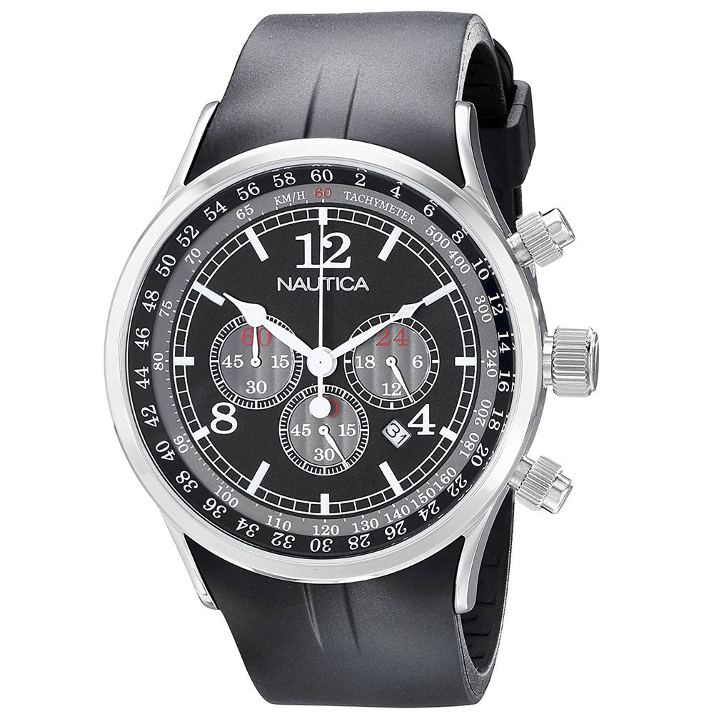 Nautica N13530G Men's Chronograph Tachymeter Watch