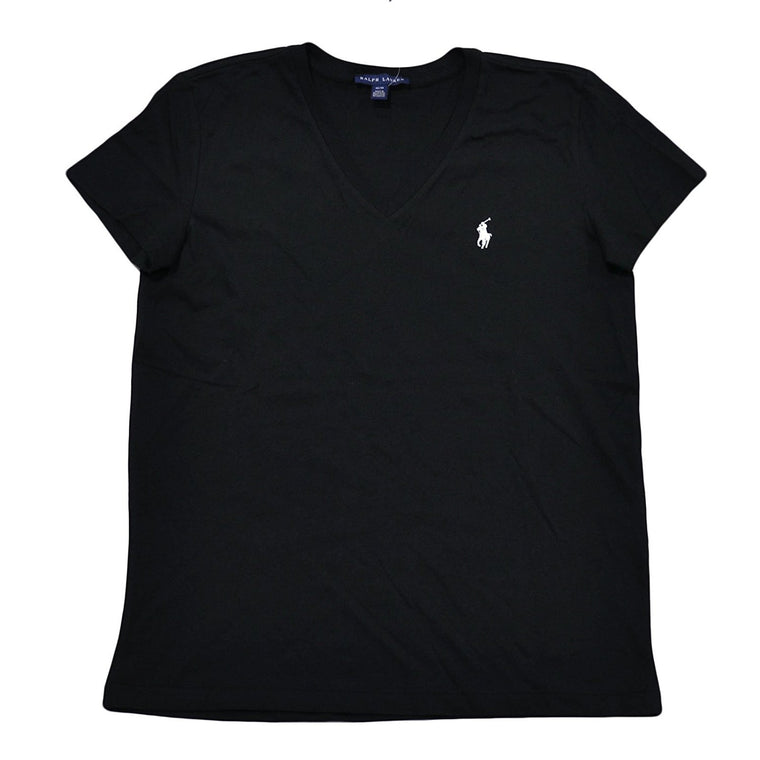Ralph Lauren Women's V-Neck Jersey T-Shirt