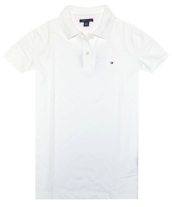 Tommy Hilfiger Women's Easy Fit Logo Polo T-Shirt