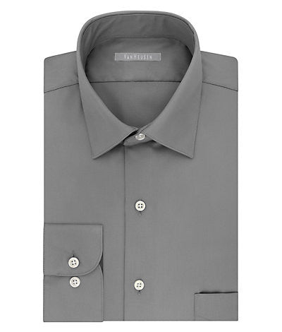 Van Heusen Fitted No Iron Lux Sateen