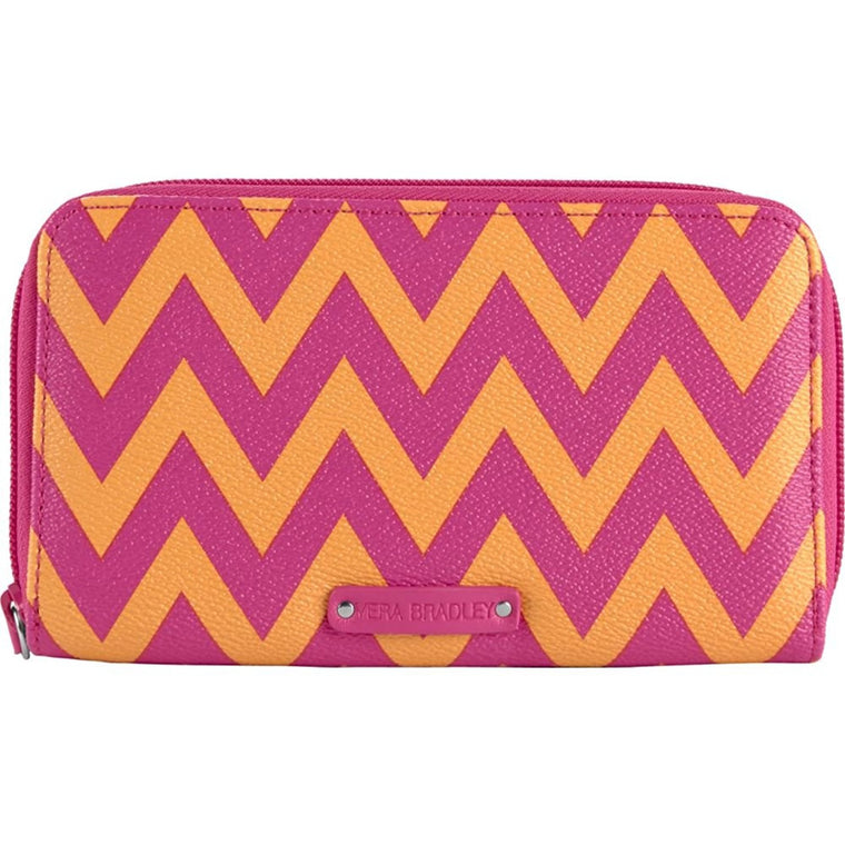Vera Bradley Accordion Wallet (Ziggy Zags)