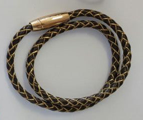 Koa Shine Bracelets Golden Brown String
