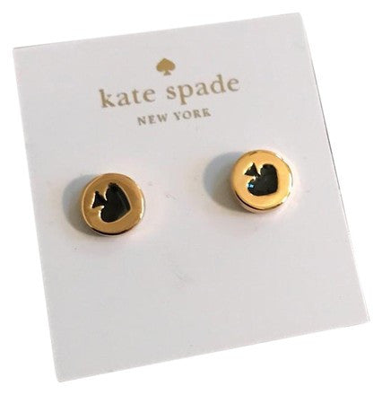 Kate Spade Spot The Spade Stud Earrings