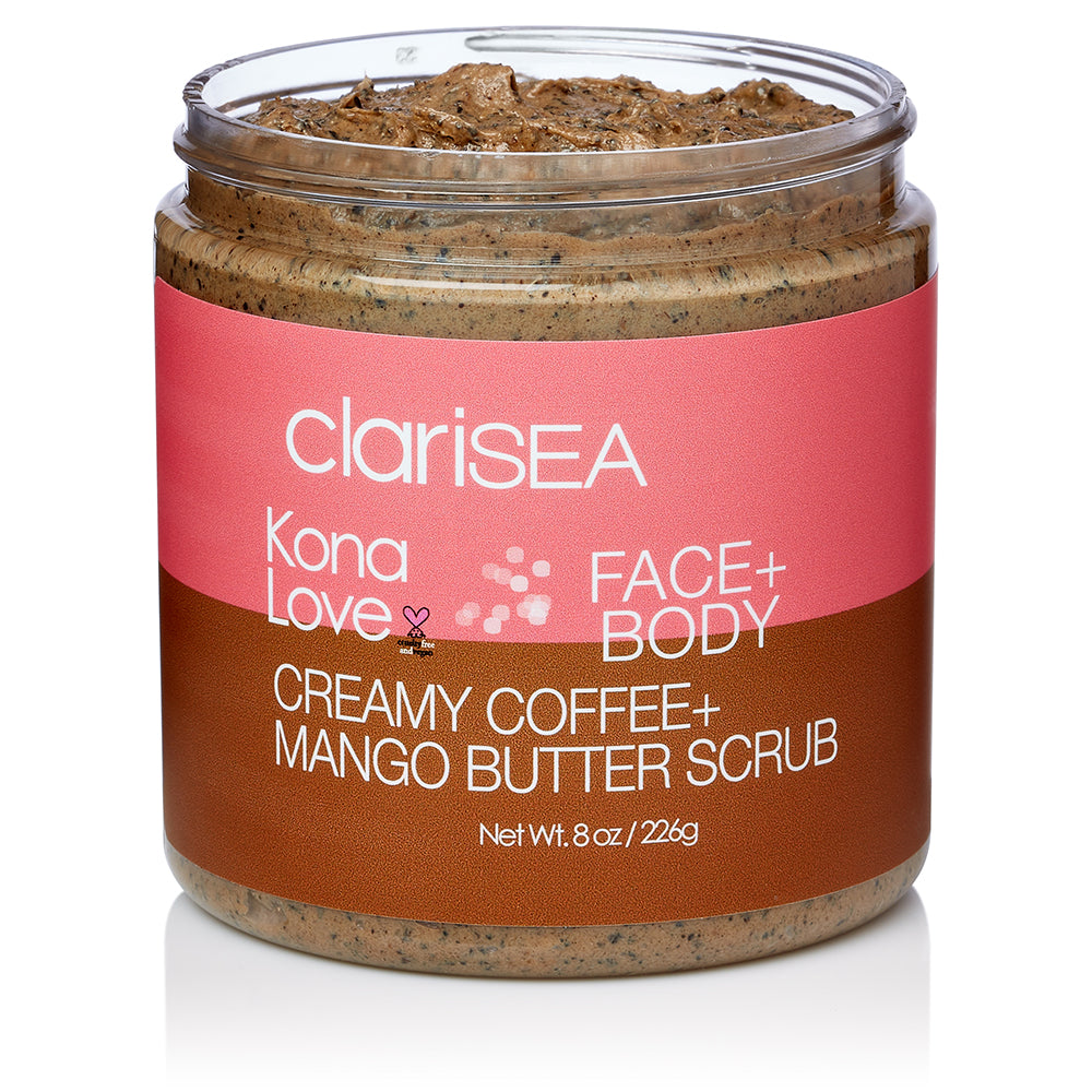 Kona Love Creamy Coffee & Mango Butter Scrub
