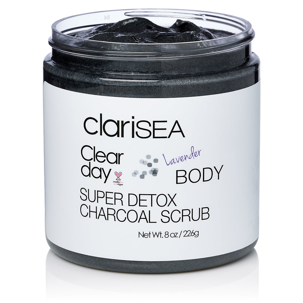 Super Detox Charcoal Body Scrub
