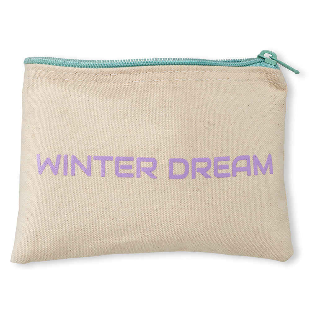 Free WINTER DREAM Canvas Cosmetic Bag