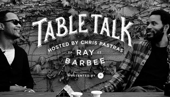 MONSTER CHILDREN X RICHER POORER: Table Talk Episode Three with Ray Barbee