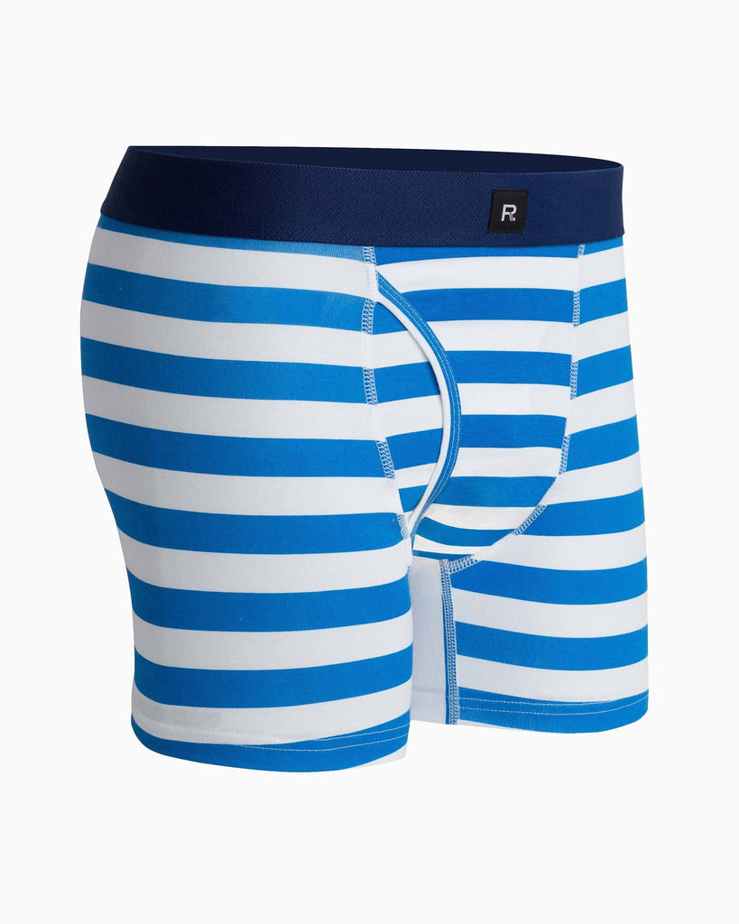 Theo Striped Cotton Boxer Brief