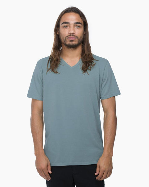 V-neck Tee Light Blue