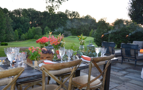 farm to table by the golf course