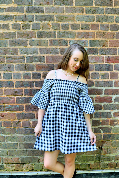 Gingham Tunic Dress