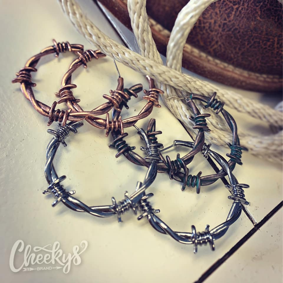 Barbed Wire Earrings