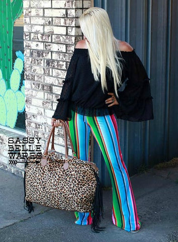 Serape Bell Bottoms