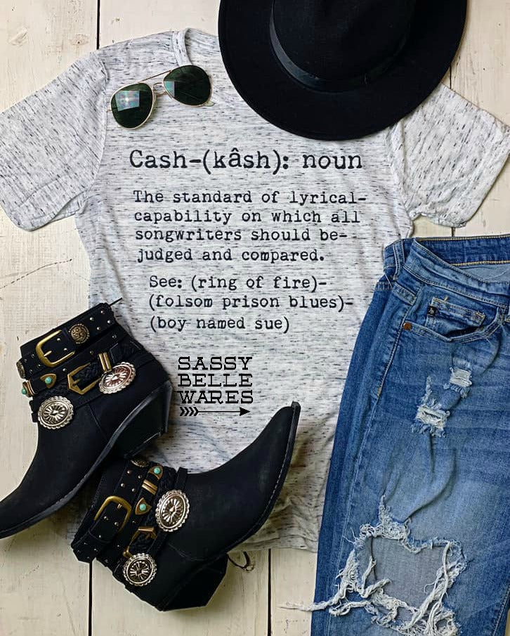 Cash Definition Tee