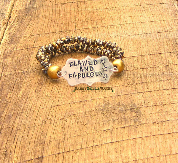 Flawed and Fabulous Bracelet