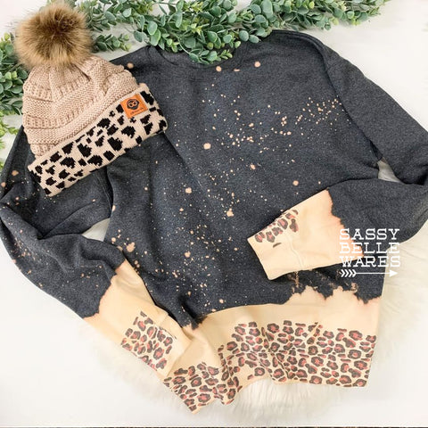 Spotty Leopard Sweatshirt