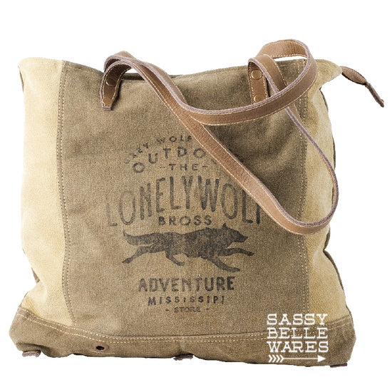 Lonely Wolf Tote