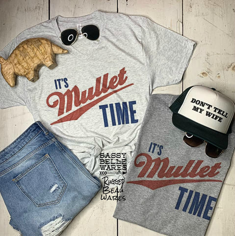 Mullet Time Tee
