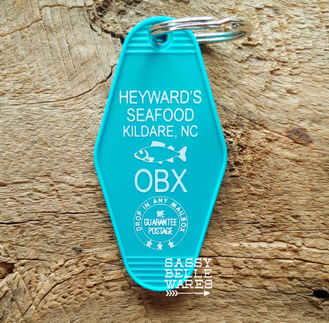 Heyward's Seafood Key Ring