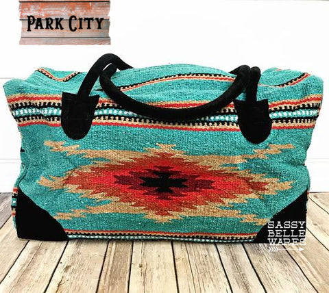 Southwestern Weekender Bag - Park City