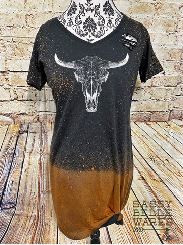 Steer Skull Dress - PRE ORDER