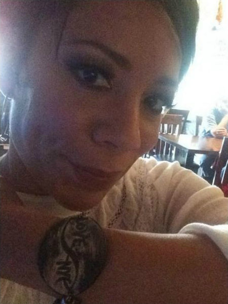 As Seen On Actress Selenis Leyva of Orange Is The New Black Infinity Love NYC Bracelet