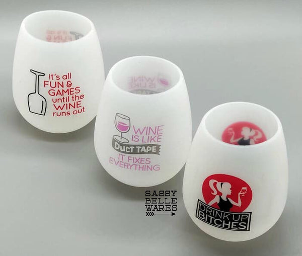 Cheeky Silicone Wine Glass