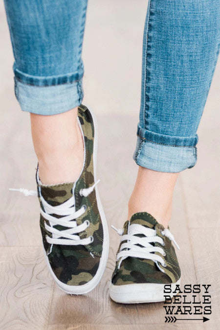 Camo Sneakers