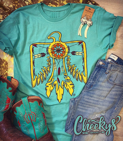 Thunderbird Dreamcatcher and Crossed Arrows Tee