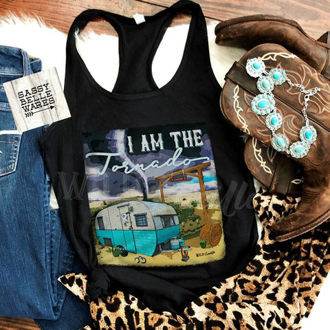 I Am The Tornado Womens Tank