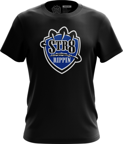 Str8 Logo Shirt (Black)
