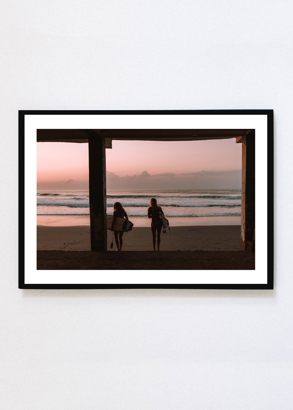 """EARLY MORNING SURF"" PRINT"