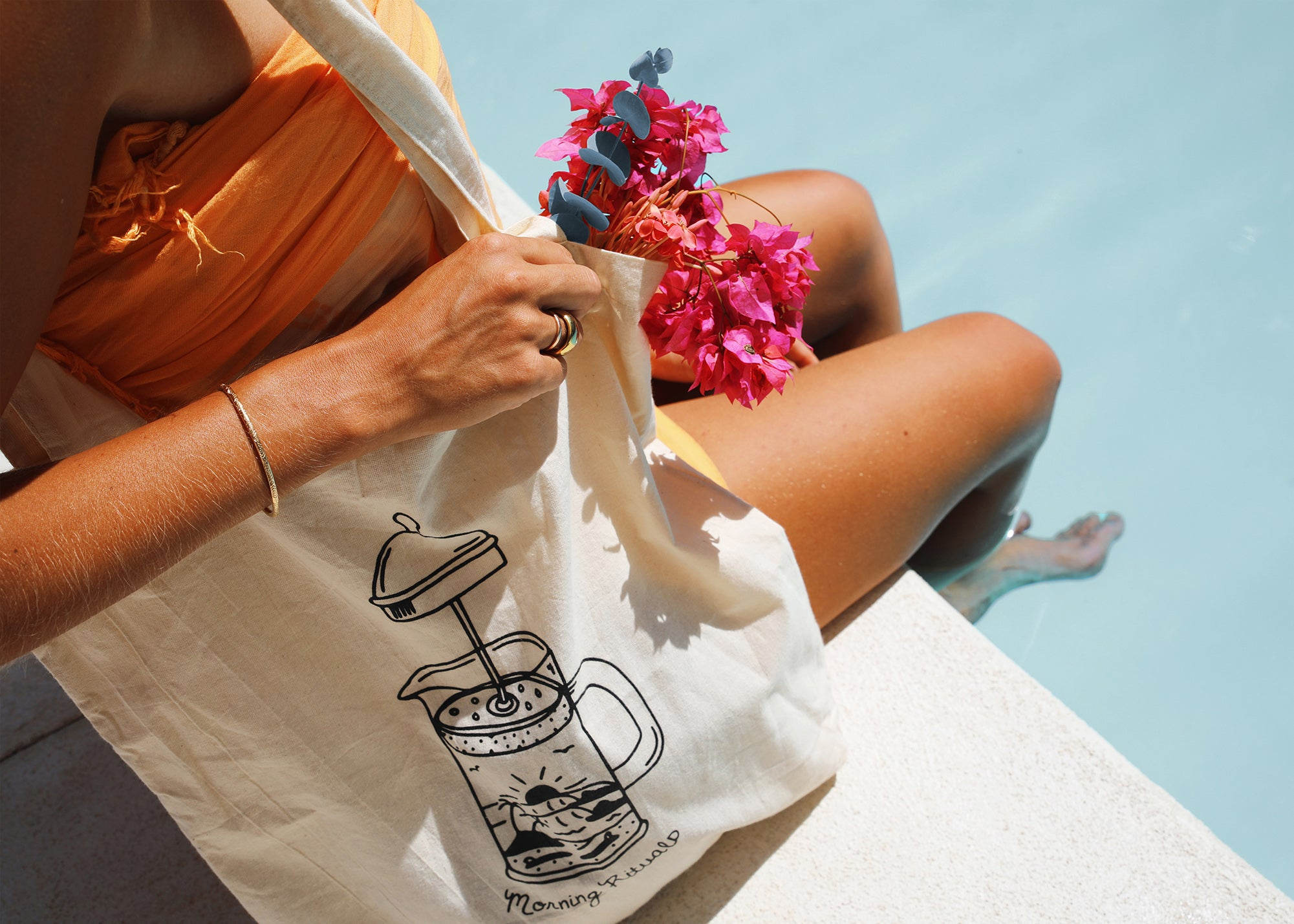 Morning Rituals Tote