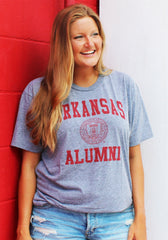Arkansas Alumni Triblend T-shirt