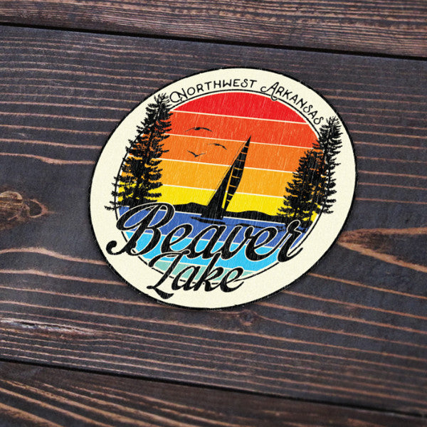 Beaver Lake Sticker