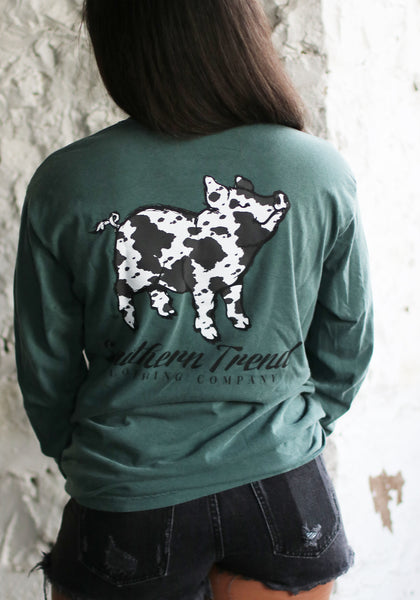 Cow Pig Long Sleeve