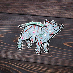 Dental Pig Sticker