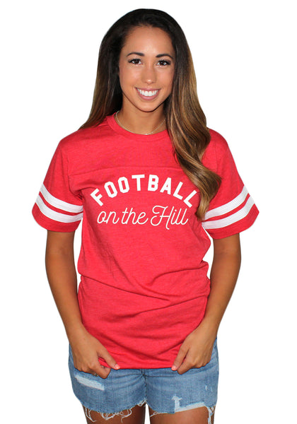 Football On The Hill LAT T-shirt