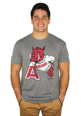Hog Leaning on 'A' Tri-Blend T-Shirt