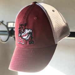 Hog Leaning on A Trucker Hat