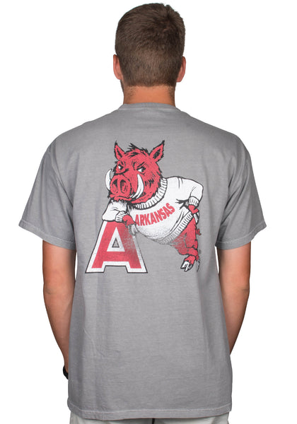 Hog Leaning on 'A' T-Shirt
