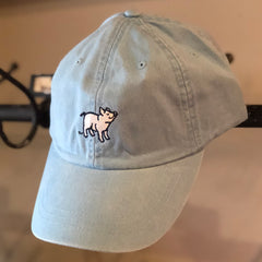 Light Blue Pig Hat