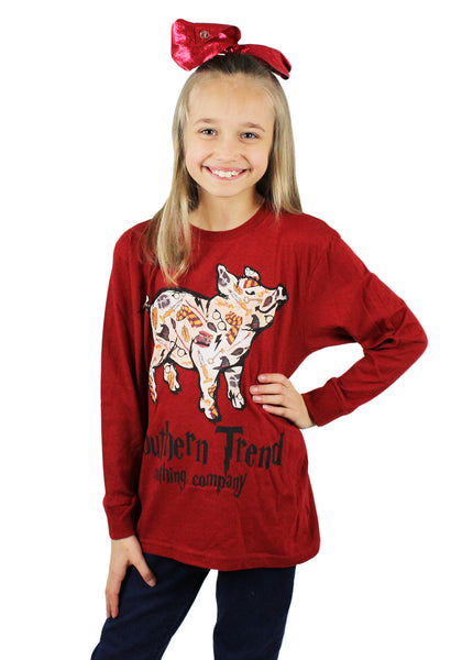 Magical Pig Youth Long Sleeve