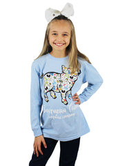 Once Upon A Pig Youth Long Sleeve