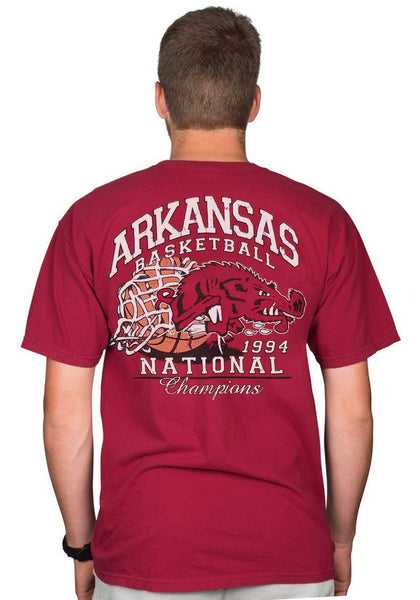 Slobbering Hog Basketball T-Shirt