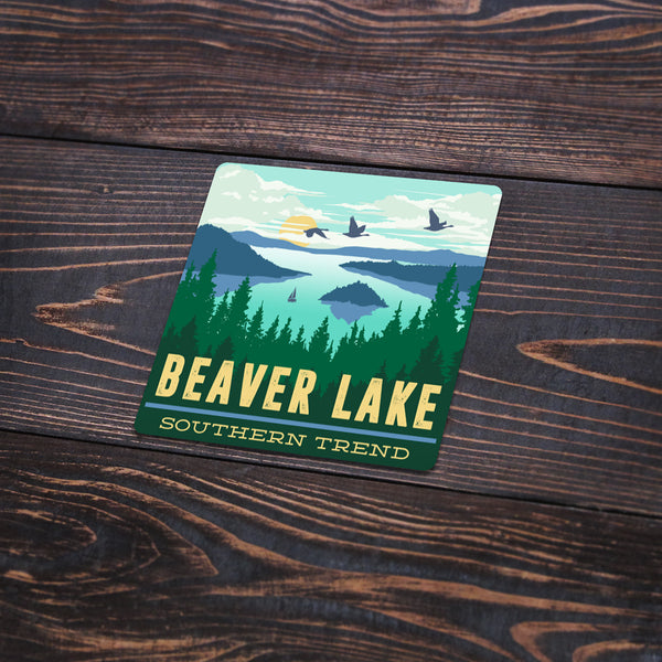 Beaver Lake Dock Sticker
