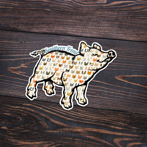 Cat Pig Sticker