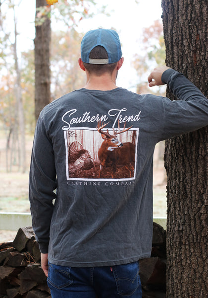 Deer Tag Long Sleeve T-shirt