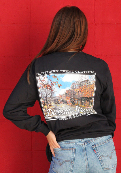 Dickson Street Long Sleeve T-shirt