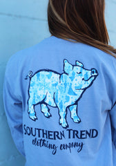 Ice Kingdom Pig Long Sleeve
